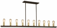 Artcraft AC11350SB Sandalwood Contemporary Satin Brass Island Lighting