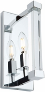 Artcraft AC11400 Carlyle Modern Chrome Wall Lighting