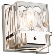 Artcraft AC11571PN Wiltshire Modern Polished Nickel Sconce Lighting
