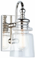 Artcraft AC11591PN Castara Polished Nickel Lighting Sconce