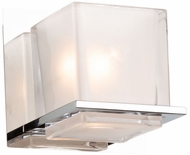 Artcraft AC11631CH Wyndham Contemporary Chrome Lighting Wall Sconce