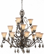 Artcraft AC1461 Vienna Bronze Chandelier Lighting