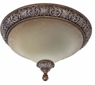 Artcraft AC1465 Vienna Bronze Flush Mount Ceiling Light Fixture