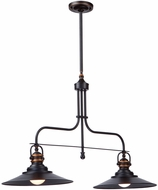 Artcraft AC1472BZ Heath Contemporary Bronze Kitchen Island Light Fixture