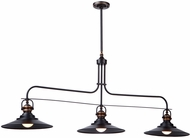 Artcraft AC1473BZ Heath Contemporary Bronze Kitchen Island Lighting