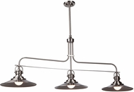 Artcraft AC1473SN Heath Modern Satin Nickel Kitchen Island Light