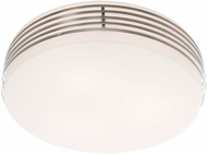 Artcraft AC2171 Chrome 12.5  Ceiling Light Fixture