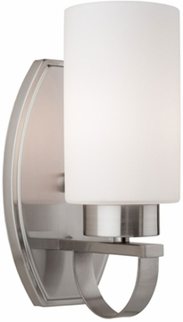 Artcraft AC3791PN Russell Hill Polished Nickel Wall Sconce Lighting