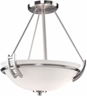 Artcraft AC4333PN Andover Oil Rubbed Bronze Flush Mount Lighting Fixture