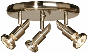 Artcraft AC5839BN Shuttle Modern Brushed Nickel Halogen Indoor Spot Lighting