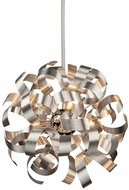 Artcraft AC600 Bel Air Modern Aluminum Halogen 18  Pendant Lighting