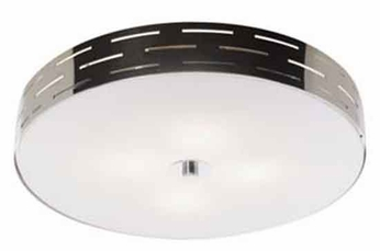 Artcraft Ac6004 Seattle Small Halogen Modern Flush Mount Ceiling Light With Chrome