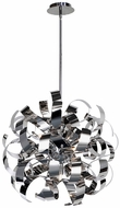 Artcraft AC600CH Bel Air Modern Chrome Halogen 18  Lighting Pendant