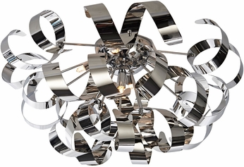 Artcraft AC605CH Bel Air Modern Chrome Halogen Ceiling Lighting Fixture