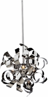 Artcraft AC606CH Belair Contemporary Chrome Halogen Drop Ceiling Light Fixture