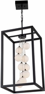 Artcraft AC6601 Massey Contemporary Matte Black LED Foyer Lighting Fixture