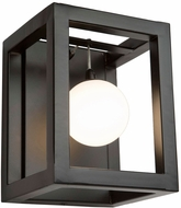 Artcraft AC6602 Massey Modern Matte Black LED Lighting Wall Sconce