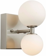 Artcraft AC6612 Hadleigh Modern Brushed Nickel LED Wall Lighting Sconce