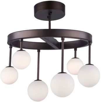 Artcraft AC6622 Melrose Modern Bronze LED Overhead Lighting Fixture