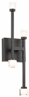 Artcraft AC6643BK Batton Contemporary Black LED Wall Lighting Sconce