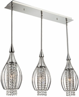 Artcraft AC703 Omni Chrome Halogen Multi Drop Lighting Fixture