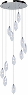 Artcraft AC7042 Doccia Chrome LED Multi Drop Lighting