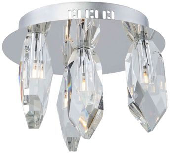Artcraft AC7044 Doccia Chrome LED Ceiling Light