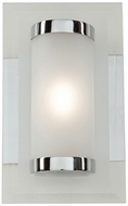 Artcraft AC7071 Turin Contemporary Chrome LED Bathroom Vanity Light