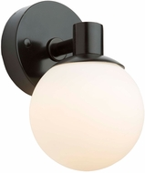 Artcraft AC7091BK Tilbury Modern Semi Gloss Black LED Wall Light Sconce