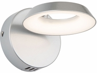 Artcraft AC7172SN Leith Modern Silver LED Wall Sconce Lighting