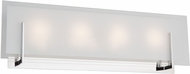 Artcraft AC7204CH Kingsley Contemporary Chrome LED 4-Light Bath Lighting Fixture
