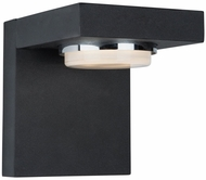 Artcraft AC7231BK Cruz Modern Matte Black LED Exterior Wall Mounted Lamp