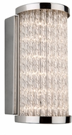 Artcraft AC7250CH Waterfall Contemporary Chrome LED Wall Sconce