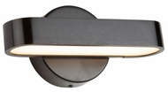 Artcraft AC7261BK Bosa Modern Satin Black LED 8  Bath Wall Sconce