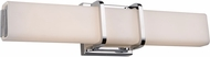 Artcraft AC7300CH Omni Contemporary Chrome LED 19  Bathroom Lighting