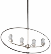 Artcraft AC7454 Kingsford Modern Slate & Brushed Nickel LED Kitchen Island Lighting