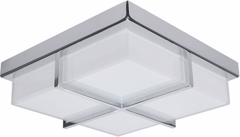Artcraft AC7490 Tranquility Contemporary Chrome LED Home Ceiling Lighting