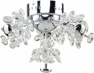 Artcraft AC7534 Blossom Chrome LED Overhead Lighting Fixture