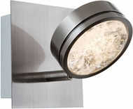 Artcraft AC7541 Terranova Contemporary Black Pearl Nickel LED Wall Sconce Lighting