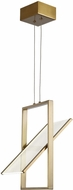 Artcraft AC7611BB Palo Alto Modern Brushed Bronze LED Mini Pendant Lighting Fixture