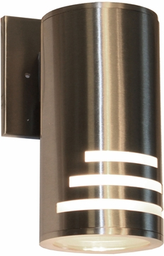 Artcraft AC8004SS Nuevo Contemporary Stainless Steel Exterior Light Sconce