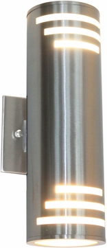 Artcraft AC8005SS Nuevo Modern Stainless Steel Outdoor Lighting Sconce