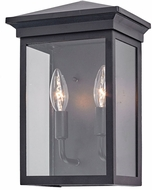 Artcraft AC8161BK Gable Black Exterior Wall Light Sconce