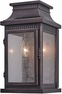 Artcraft AC8171OB Mansard Bronze Outdoor Wall Lighting Fixture
