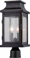 Artcraft AC8173OB Mansard Bronze Outdoor Post Lighting