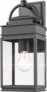 Artcraft AC8220BK Fulton Black Exterior Wall Sconce Light