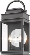 Artcraft AC8231BK Fulton Black Exterior Lighting Sconce