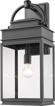 Artcraft AC8240BK Fulton Black Exterior Wall Sconce Lighting