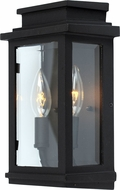 Artcraft AC8291BK Fremont Black Exterior Wall Sconce Light