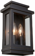 Artcraft AC8291ORB Fremont Oil Rubbed Bronze Outdoor Wall Sconce